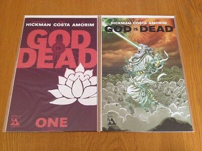 God Is Dead #1-5 + Variants Complete Run NM