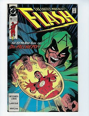 Flash # 40 (July 1990), Fn/vf