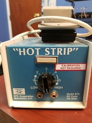 EPE Technology Corp. Model 875 Hot Strip (1.5VAC, 35A Power Supply Only) Working