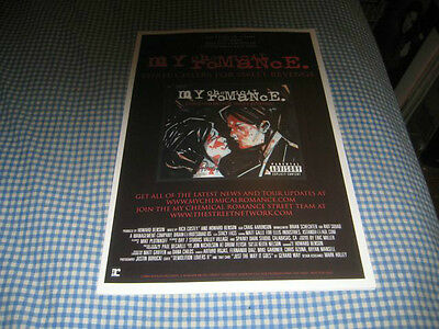 MY CHEMICAL ROMANCE-(three cheers for sweet revenge)-1 POSTER-11X17-NMINT-RARE