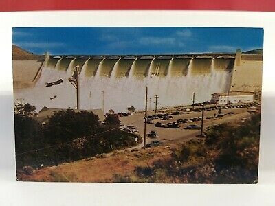 Vintage Postcard Grand Coulee Dam. Washington State Lot(2-2)