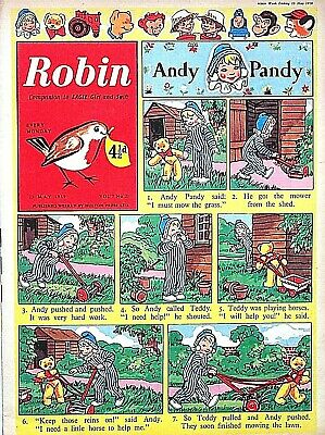 ROBIN - 23rd MAY 1959 (18 - 24 May) - RARE 60th BIRTHDAY GIFT !! VG+ dandy eagle