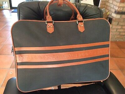 YSL Yves Saint Laurent Original Travel Luggage Suitcase Vintage -