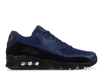 new concept 6de78 7c09e Nike Air Max 90 Essential Men s (Size 9) BLACK MIDNIGHT NAVY AJ1285 007