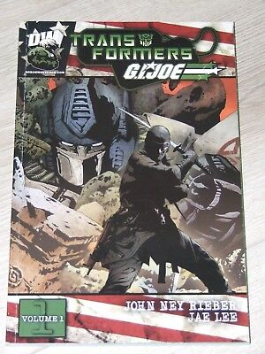 Transformers/GI Joe TPB (2003 Dreamwave)