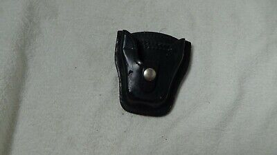 Used Leather Mixson Hand Cuff Duty Holster Hc6