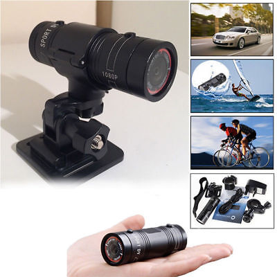Motor Bike Motor Cycle Action Helmet Sports Camera Cam Full Hd 1080P