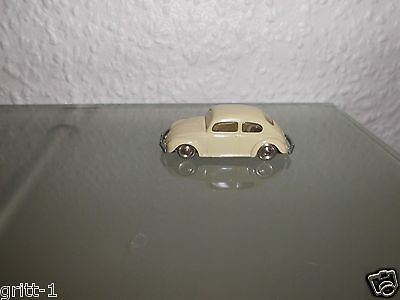 Lego 1:87 VW Käfer  beige lange Version Modellauto Rar Vintage  ☆