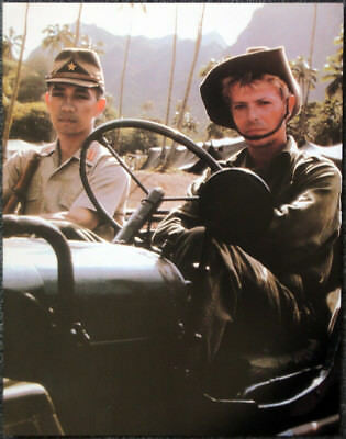 David Bowie Poster Page . 1983 Merry Christmas Mr Lawrence . K42
