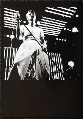 David Bowie Poster Page . 1978 Concert . K37