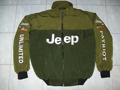 NEU Jeep CJ CJ-6 CJ-7 Liberty Patriot fan - Jacke  jacket veste jas giacca jakka