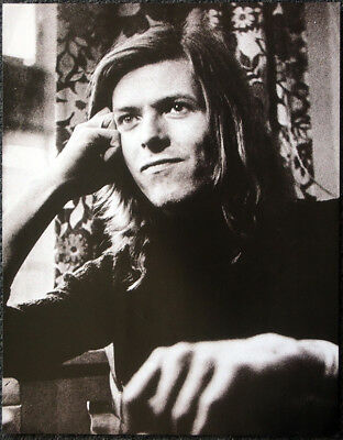 David Bowie Poster Page . 1971 . K15