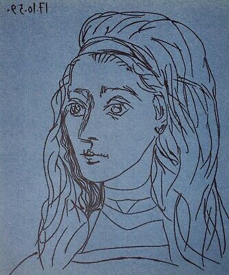 Pablo Picasso - Hand Signed Lithograph 45/100