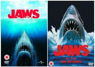Jaws/Jaws 2/Jaws 3/Jaws - The Revenge (DVD x 5, 3-Disc Set, + Jaws)