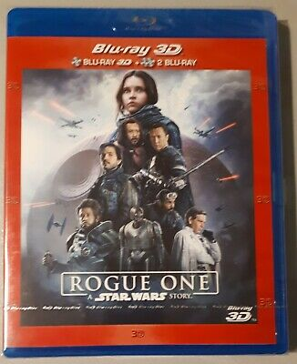 Rogue One: A Star Wars Story Blu-ray 2D/3D + disque Bonus NEUF sous blister