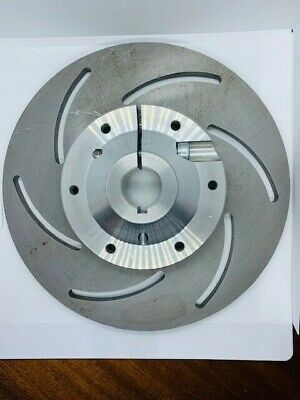 Go Kart Slotted Steel Brake Disc 8 x 200 dia x 76mm & 30mm Heavy Duty Carrier
