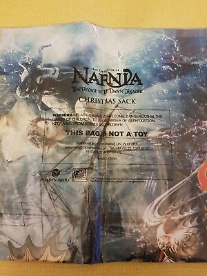 The Chronicles Of Narnia The Voyage Of Dawn Treader Christmas Sack - New