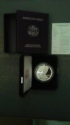 1986 American Silver Eagle 1 oz Proof Coin US Mint - OGP
