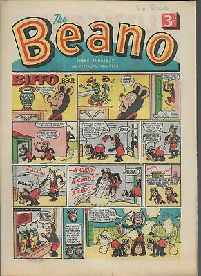 Beano Comic No 1122 January 18Th 1964