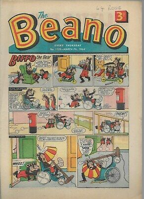 Beano Comic No 1129 March 7Th 1964