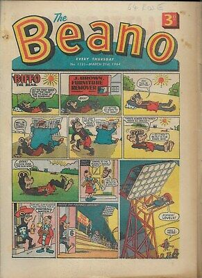 Beano Comic No 1131 March 21St 1964