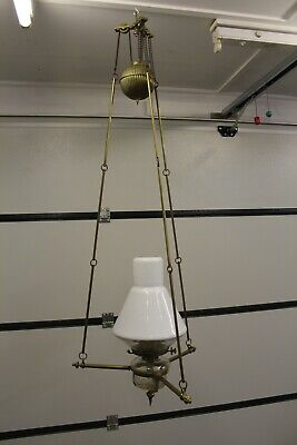 Vintage Rise And Fall Lamp