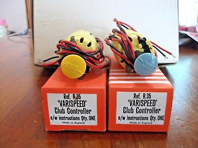 Vintage 1960's Vip Victory Industries  Boxed Nos Club Controller Slot Car 1:32