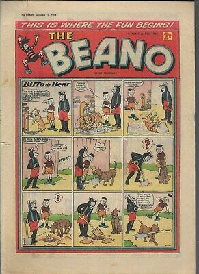 Beano Comic No 843 September 13Th 1958