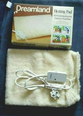 Vintage DREAMLAND ELECTRIC HEATING PAD with 3 Heat Settings.