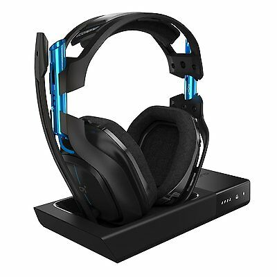 NEW ASTRO Gaming A50 Wireless Dolby Gaming Headset - Black/Blue PS4/PC Headphone