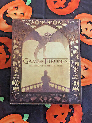 Game of Thrones: The Complete Fifth Season (Blu-ray Disc, 2016, 4-Disc Set) HBO