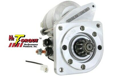 New Gear Reduction High Torque Starter Fits Euro Model Fiat 1975-1978 131 1.8L
