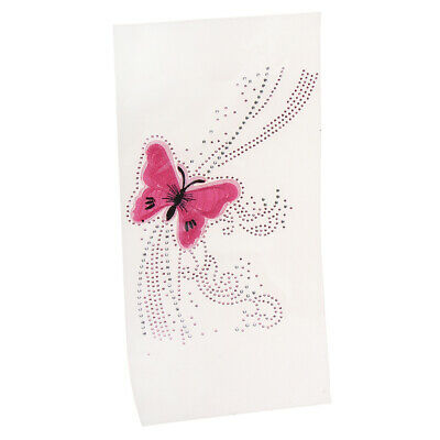 Bling Crystal Rhinestones Iron on Hot Fix Patch Butterfly Pattern Applique
