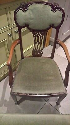 Antique chair - late Victorian - John Reid and Sons - 1880-1900