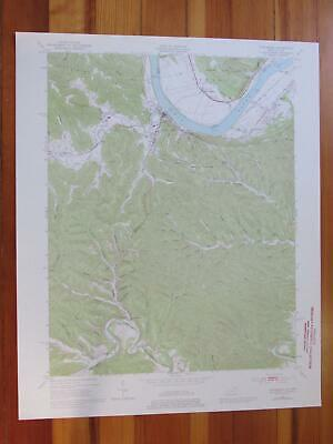 Vanceburg Kentucky 1976 Original Vintage USGS Topo Map