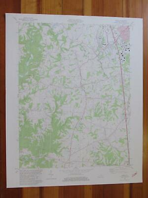 Union Kentucky 1982 Original Vintage USGS Topo Map