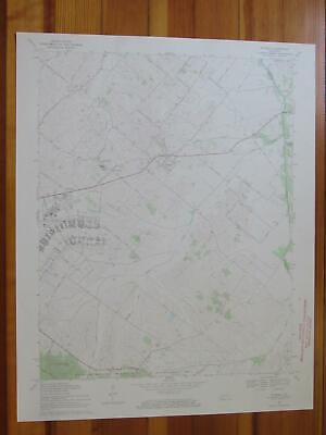Waverly Kentucky 1971 Original Vintage USGS Topo Map