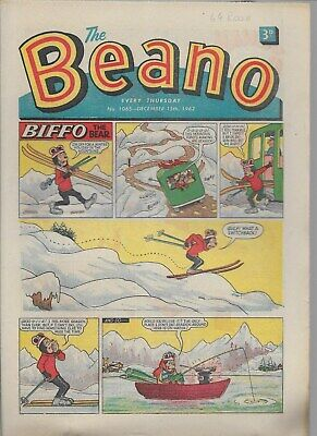 Beano Comic No 1065 December 15Th 1962