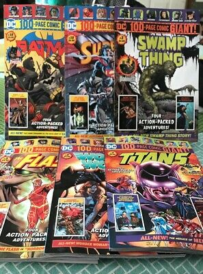 DC 100-PAGE Comic GIANT Walmart Batman Superman 10 Titans Wonder Woman Flash 3