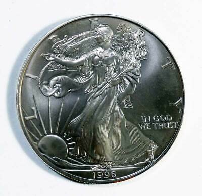 1996 American Silver Eagle. Uncirculated. AUCTION!