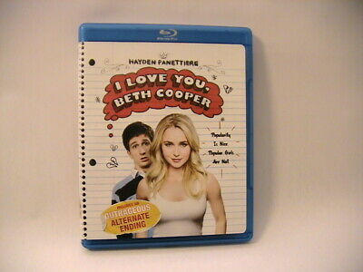 I Love You Beth Cooper Blu-Ray Combine Ship .50 Each Buy 3 Get 1 Free