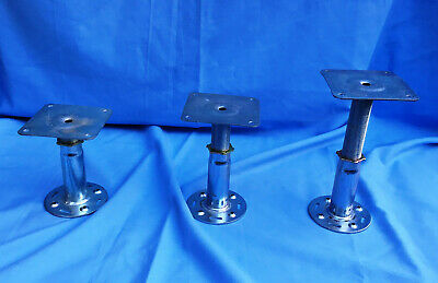 Floor Jack Post Leveling Support Adjustable Height Range Set of 3 Made in UK