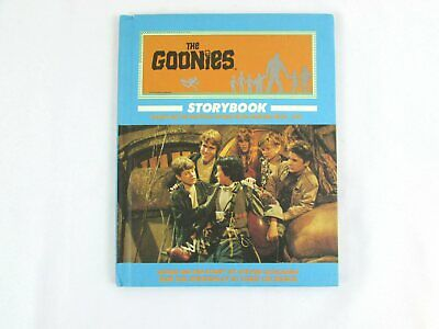 The Goonies Storybook 1985 Weekly Reader Hardcover Spielberg Movie Tie-In