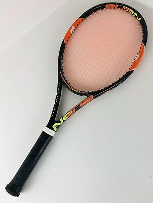 Used Wilson Burn Team 100 Square Inch Racket 9.4 oz Carbon Fiber
