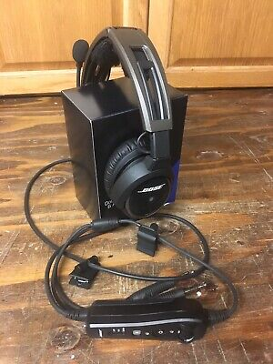 Bose A20 aviation headset w/ dual plug - Bluetooth