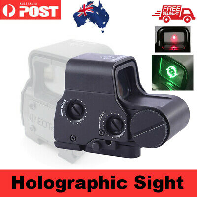 Holographic Sight of JM M4A1 Gel Ball Blaster Toy Gun Accessories Green/Red Dot