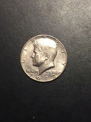 1982 P Kennedy Half Dollar Low mintage-Rarer Coin! **Free Shipping**