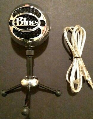 Blue Microphones Snowball Condenser Microphone [Chrome / Brushed Aluminum]