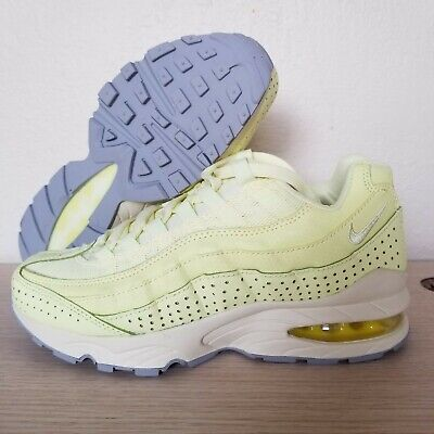 lowest price c762e 3b66f Nike Air Max 95 GS Youth Citron Tint Wolf Gray Dew Yellow Size 5Y ( AJ1899