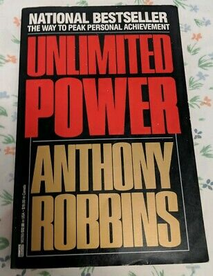 Unlimited Power - Anthony Robbins 1987 Paperback *Mint* - FREE shipping